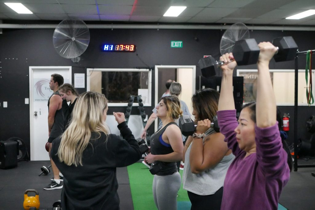 Fitness Room Group Training Gym Membership